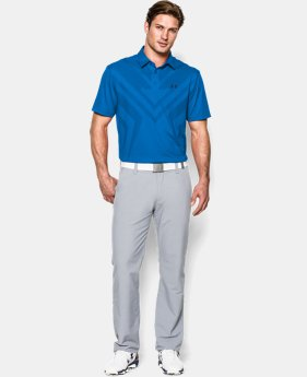 Men's HeatGear® ArmourVent™ Tips Polo