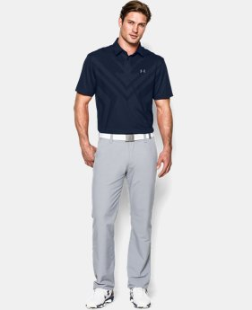 Men's HeatGear® ArmourVent™ Tips Polo  5 Colors $53.99 to $67.99