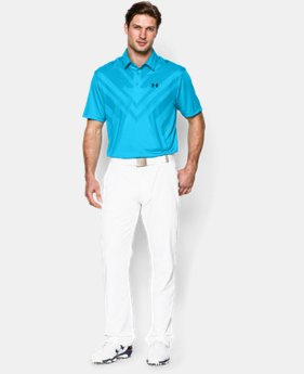 Men's HeatGear® ArmourVent™ Tips Polo LIMITED TIME: FREE U.S. SHIPPING 1 Color $79.99