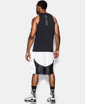 Men's Charged Cotton® Jus Sayin Too Tank  2 Colors $17.99