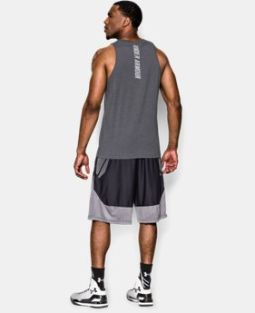 Men's Charged Cotton® Jus Sayin Too Tank LIMITED TIME: FREE SHIPPING 3 Colors $29.99