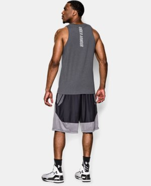 Men's Charged Cotton® Jus Sayin Too Tank  3 Colors $29.99