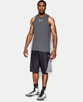 Men's Charged Cotton® Jus Sayin Too Tank EXTENDED SIZES 5 Colors $24.99