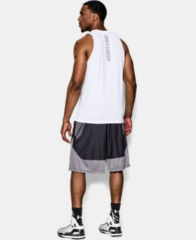 Men's Charged Cotton® Jus Sayin Too Tank LIMITED TIME: FREE U.S. SHIPPING 1 Color $24.99