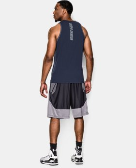 Men's Charged Cotton® Jus Sayin Too Tank LIMITED TIME: FREE SHIPPING 1 Color $22.99