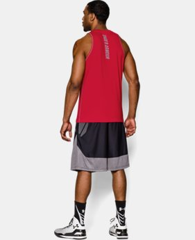 Men's Charged Cotton® Jus Sayin Too Tank  1 Color $14.24 to $18.99