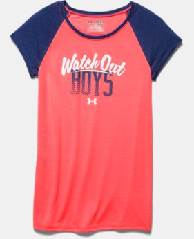 Girls' UA Watch Out Boys Raglan