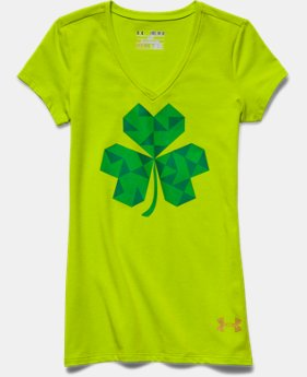Girls' UA St Pattys Day V-Neck