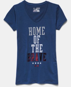 Girls' UA Home Of The Brave V-Neck