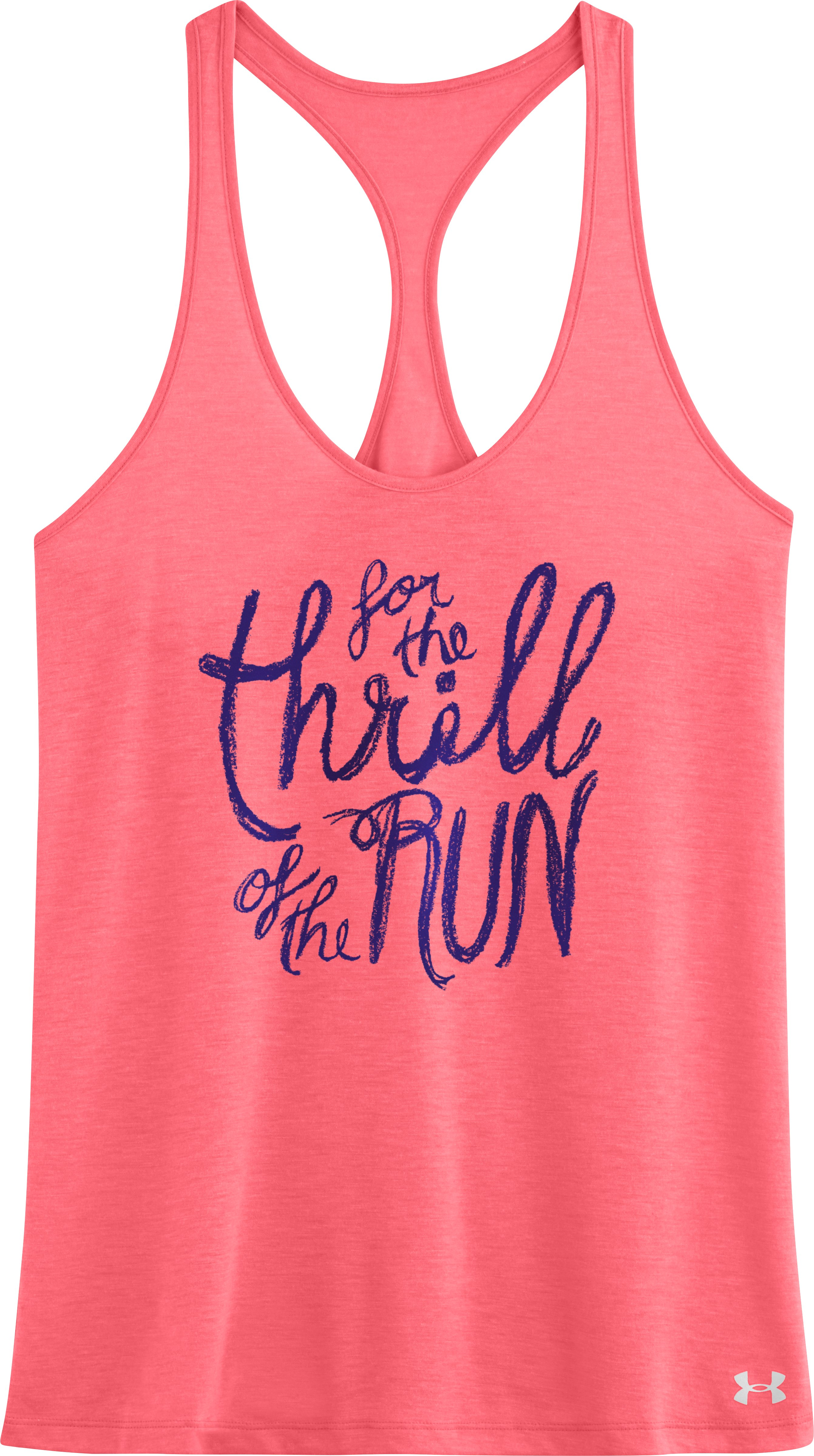 Women's UA For The Thrill Of The Run Tank, BRILLIANCE, Laydown