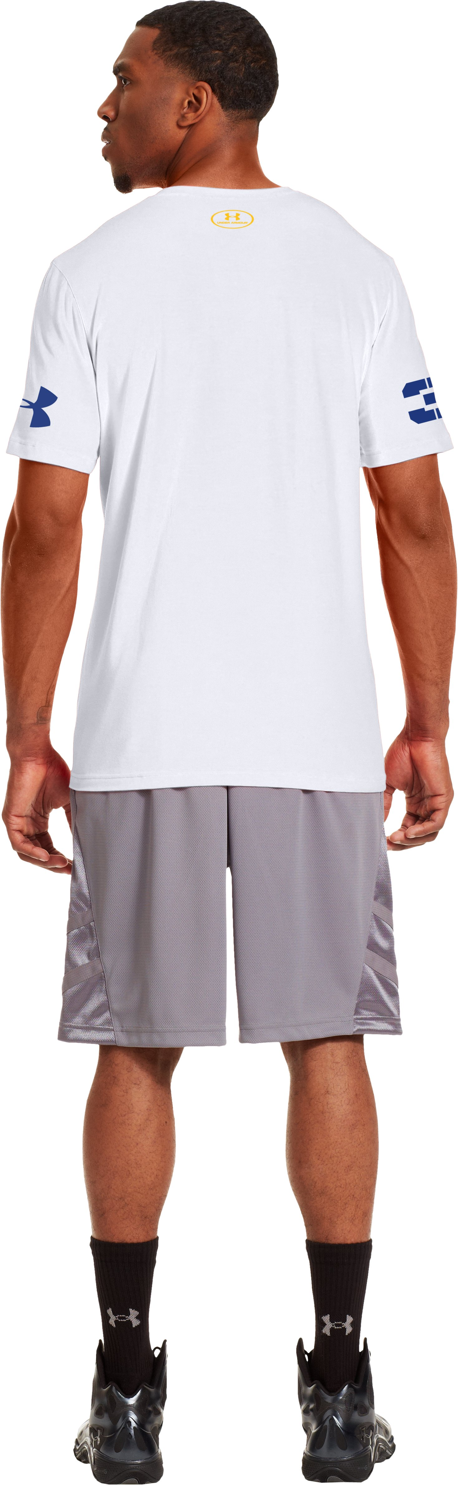 Men's UA Steph Curry Torch T-Shirt, White, Back