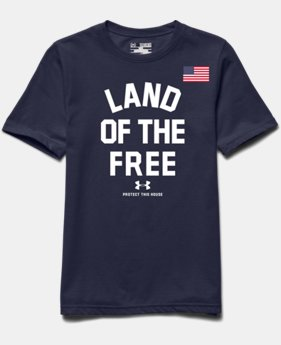 Boys' UA Land Of The Free T-Shirt