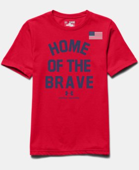 Boys' UA Home Of The Brave T-Shirt