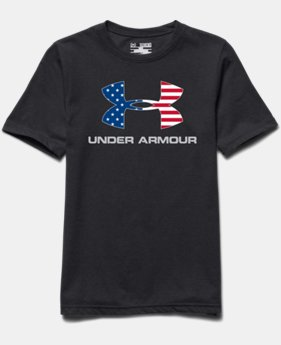 Boys' UA Big Logo USA T-Shirt