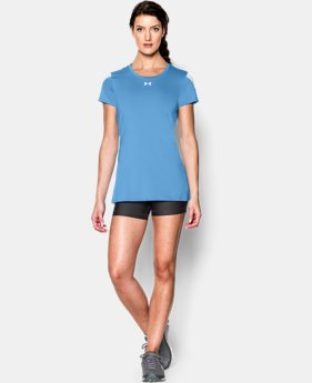 Women's UA Block Party Short Sleeve Jersey LIMITED TIME: FREE SHIPPING 2 Colors $39.99