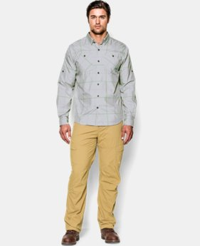 Men's UA Chesapeake Patterned Long Sleeve Shirt  1 Color $44.99
