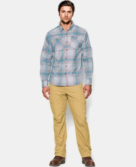 Men's UA Chesapeake Patterned Long Sleeve Shirt LIMITED TIME: FREE U.S. SHIPPING 1 Color $44.99