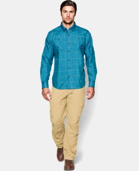 Men's UA Chesapeake Patterned Long Sleeve Shirt   $44.99