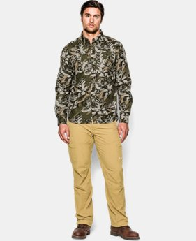 Men's UA Chesapeake Patterned Long Sleeve Shirt LIMITED TIME: FREE U.S. SHIPPING  $44.99 to $47.99