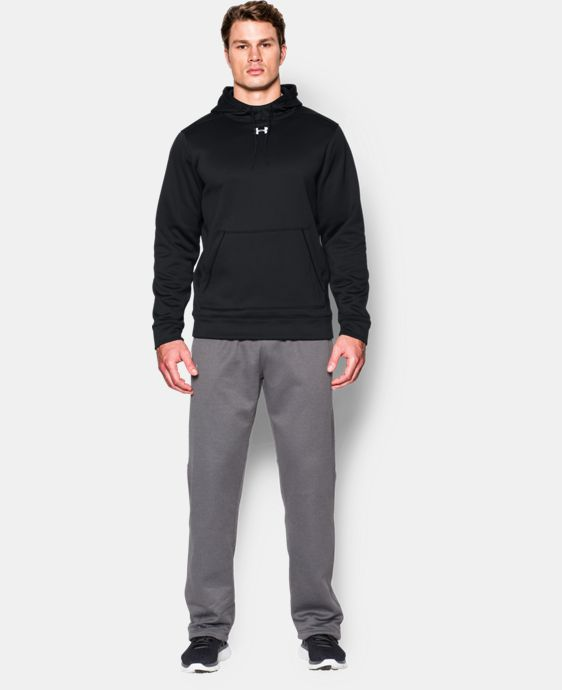 Best Seller  Men's UA Storm Armour® Fleece Team Hoodie LIMITED TIME: FREE SHIPPING 1 Color $64.99