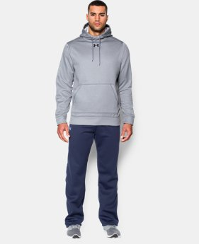 Best Seller Men's UA Storm Armour Fleece® Team Hoodie  2 Colors $54.99