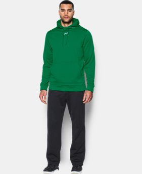 Best Seller  Men's UA Storm Armour® Fleece Team Hoodie  2 Colors $64.99
