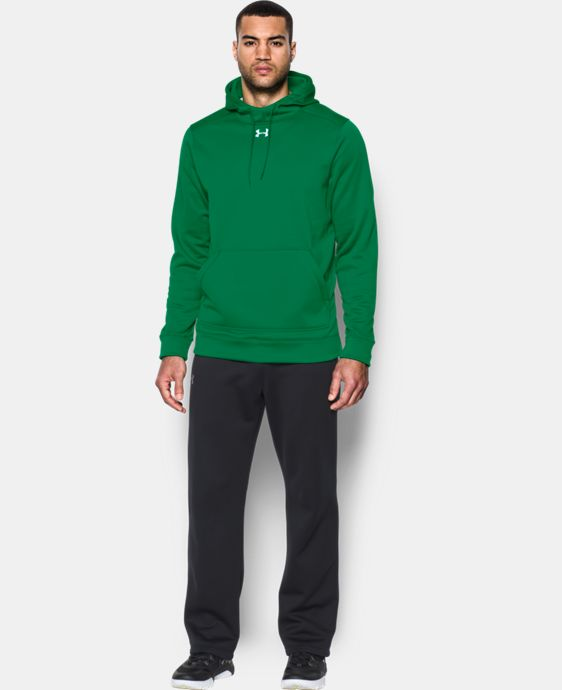 Best Seller  Men's UA Storm Armour® Fleece Team Hoodie LIMITED TIME: FREE SHIPPING 14 Colors $64.99