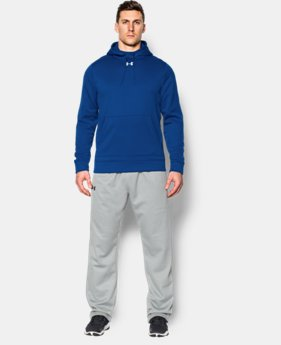 New Arrival  Men's UA Storm Armour® Fleece Team Hoodie  2 Colors $64.99