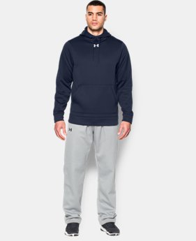 New Arrival  Men's UA Storm Armour® Fleece Team Hoodie   $64.99