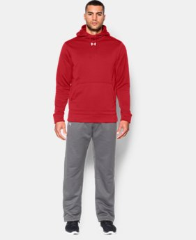 Best Seller  Men's UA Storm Armour® Fleece Team Hoodie  1 Color $64.99