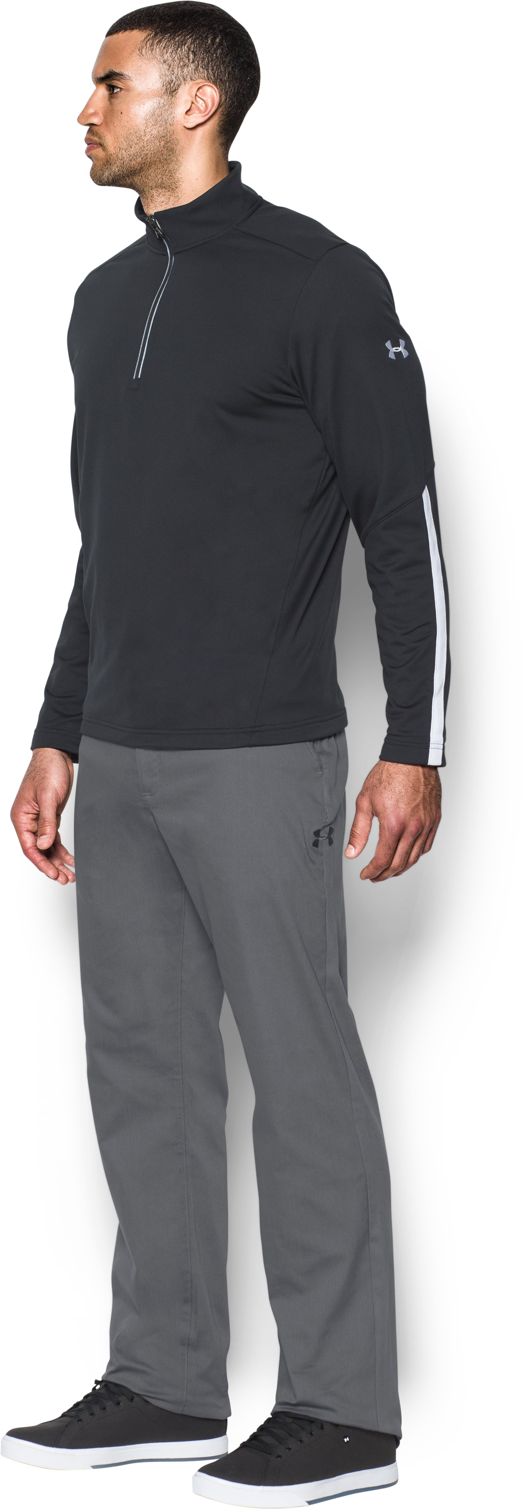 Men's UA Performance Sideline Pants, Graphite