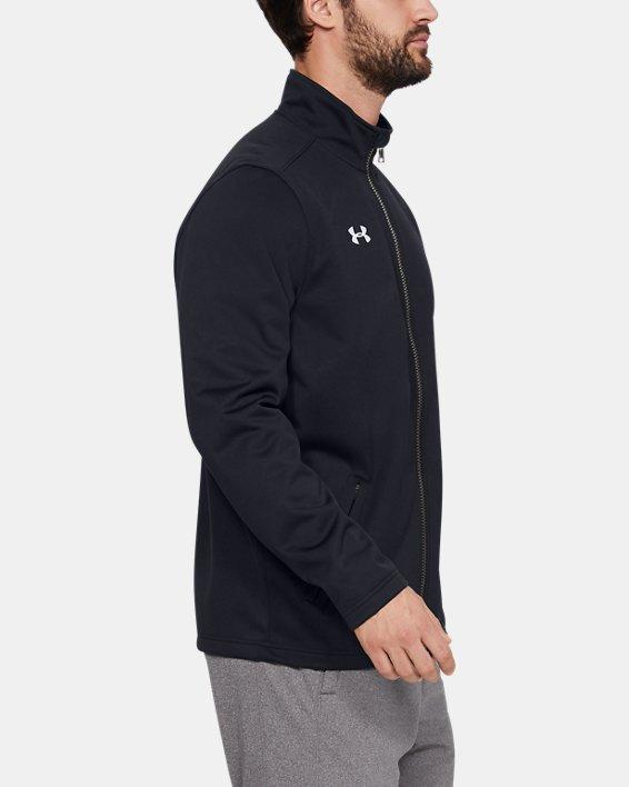 Men's UA Ultimate Team Jacket, Black, pdpMainDesktop image number 3