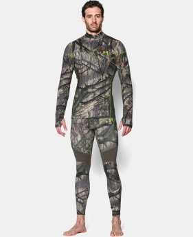 Men's UA ColdGear® Armour Scent Control Mock  1 Color $57.99