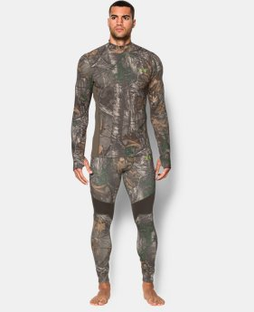 Men's UA ColdGear® Armour Scent Control Mock LIMITED TIME: 25% OFF 2 Colors $56.24