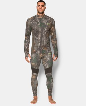 Men's UA ColdGear® Armour Scent Control Mock LIMITED TIME: 25% OFF  $56.24
