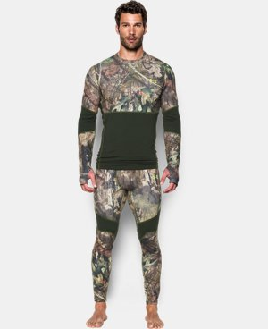 Men's UA ColdGear® Armour Scent Control Crew LIMITED TIME OFFER + FREE U.S. SHIPPING 3 Colors $56.24