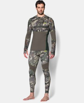Men's UA ColdGear® Armour Scent Control Crew  1 Color $44.99