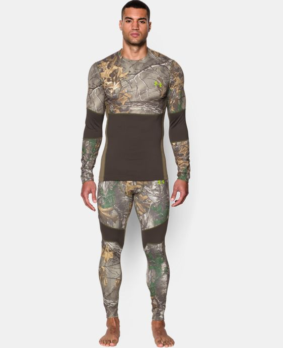 New Arrival  Men's UA ColdGear® Armour Scent Control Crew   $63.74