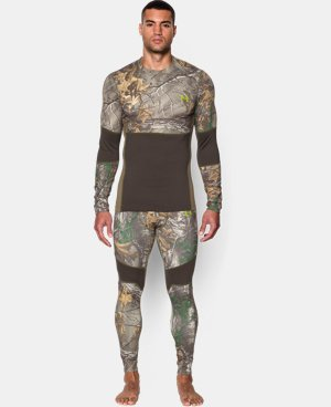 New Arrival  Men's UA ColdGear® Armour Scent Control Crew  1 Color $63.74