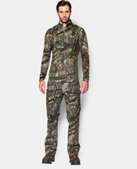 Men's UA ColdGear® Armour Scent Control ¼ Zip  1 Color $63.99
