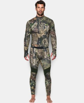 Men's UA ColdGear® Armour Scent Control Leggings LIMITED TIME: 25% OFF 2 Colors $56.24