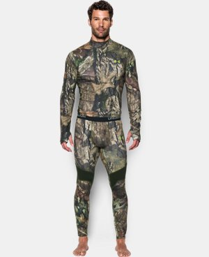 Men's UA ColdGear® Armour Scent Control Leggings LIMITED TIME OFFER + FREE U.S. SHIPPING 3 Colors $56.24
