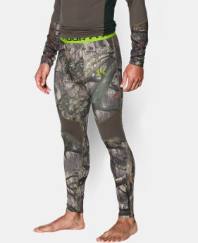 Men's UA ColdGear® Armour Scent Control Leggings  2 Colors $34.49 to $42.74