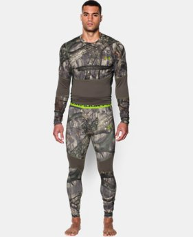 Men's UA ColdGear® Armour Scent Control Leggings  1 Color $44.99