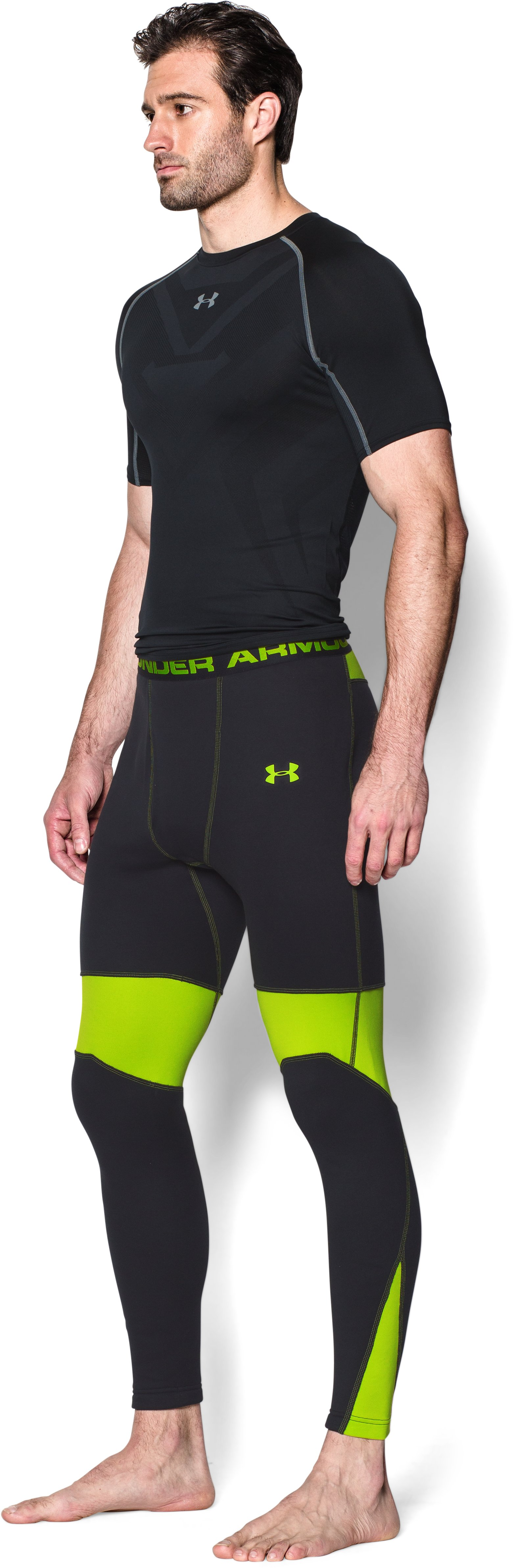 Men's UA Base™ Scent Control Extreme Leggings, Black ,