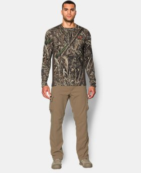 New Arrival  Men's UA Tech™ Scent Control Long Sleeve T-Shirt   $54.99