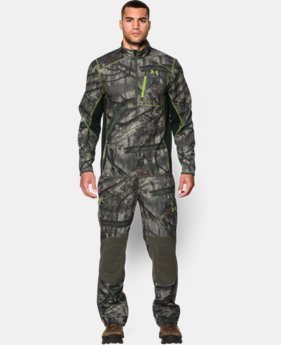 Men's UA ColdGear® Infrared Scent Control ¼ Zip