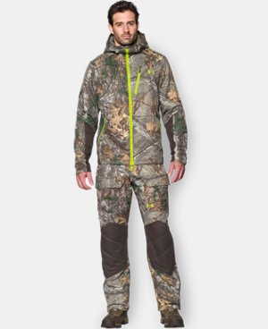 New Arrival Men's UA Storm Scent Control Barrier Hooded Jacket LIMITED TIME: 25% OFF 1 Color $127.49