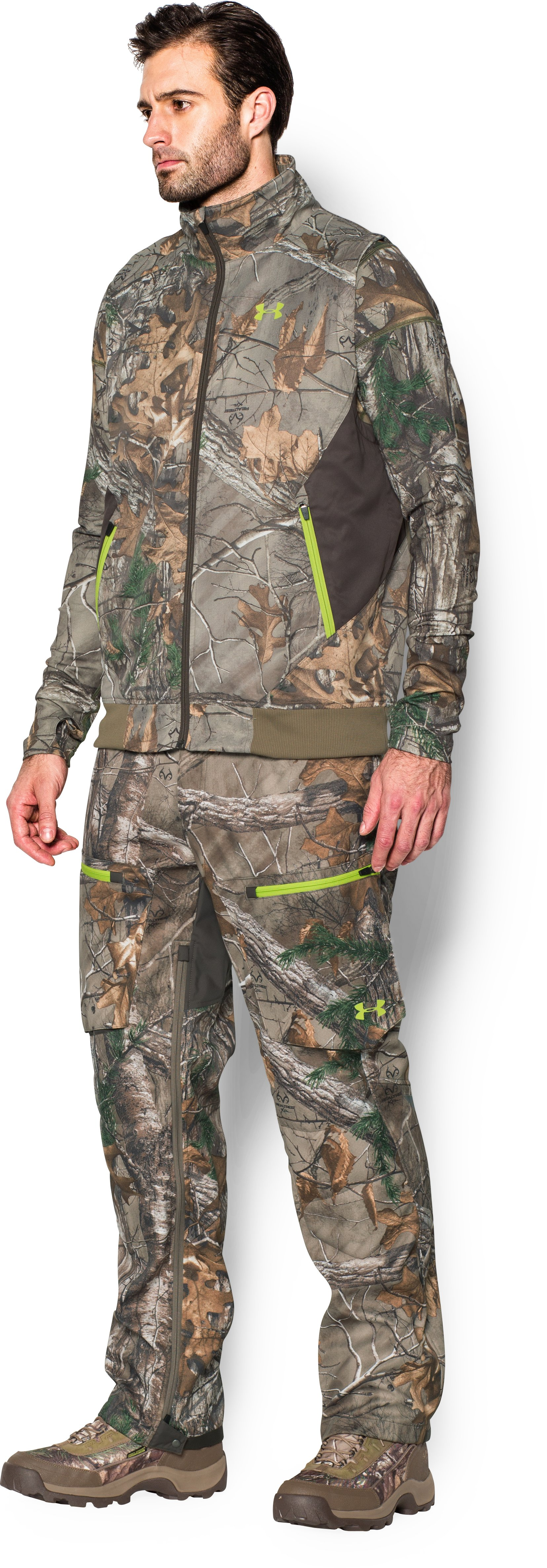Men's UA Scent Control Barrier Vest, REALTREE AP-XTRA, undefined