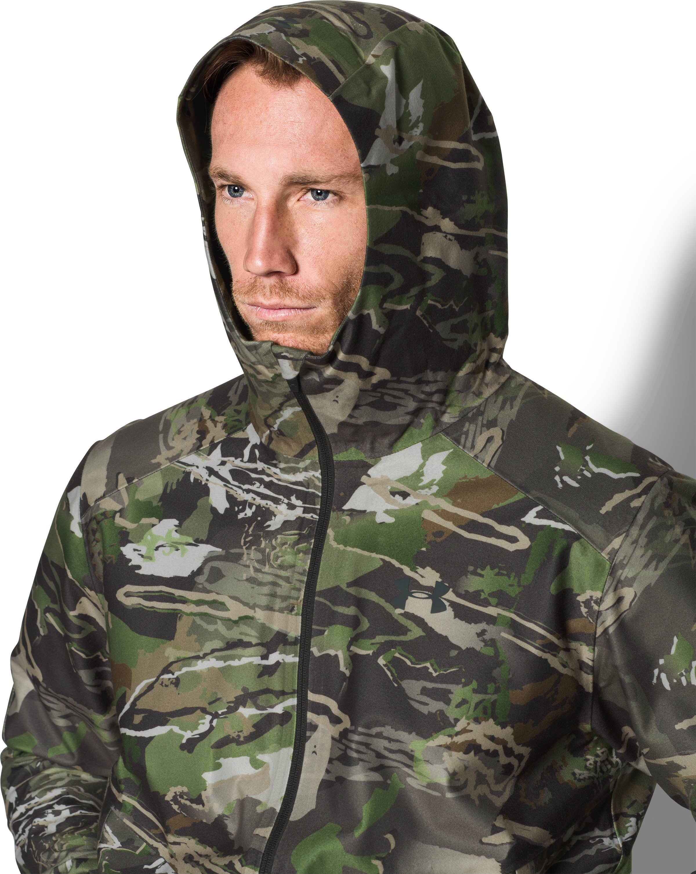 UA Storm Gore-Tex® Essential Rain Jacket, RIDGE REAPER® FOREST
